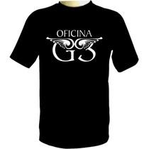 Camiseta Oficina G3 - Camisa De Banda Gospel Rock