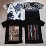 Camiseta Armaniexchange Gola V Várias Cores