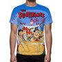 Camisa, Camiseta The Flintstones - Estampa Total