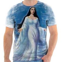 Camiseta De Iemanja A Rainha Do Mar - Santa - 2