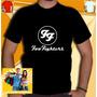 Camiseta Foo Fighters Camisa Ff Bandas Rock Red Hot Guns Ac