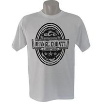 Camiseta Masculina Orange County Choppers Carro Motos Bandas