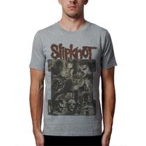 Camiseta Slipknot Blusas Moletom Regata Raglan Bandas Rock