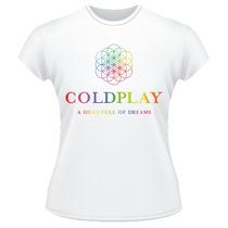 Baby Look Coldplay A Head Full Of Dreams Tour Feminina