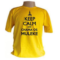 Camisa Cone Crew Keep Calm And Chama Os Muleke