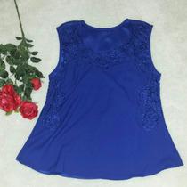 Promoção Blusas Femininas Renda Guipir Verão Rendada Barata