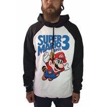 Casaco Blusa De Frio Moletom Jogos Games Super Mario Bros