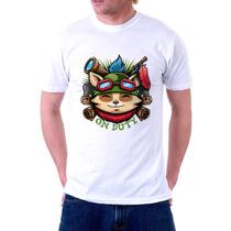 Camisa, Camiseta League Of Legends, Teemo On Duty