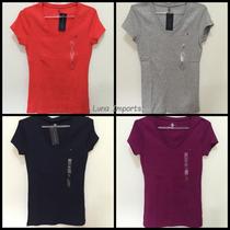 Camisa Blusas Feminina Tommy Hilfiger Malha 100% Original