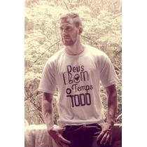 Camiseta Cristã - Gospel - Evangélica - Deus É Bom (branca)