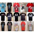 Kit C/10 Camisetas Várias Marcas R$ 140,00