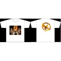Camisetas Hunger Games Katniss Peeta Panem Jogos Vorazes