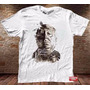Camiseta Masculina Alfred Hitchcock Vertigo Psicose Pássaros