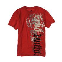 Ecko Unltd. Masculino Fusão Para Baixo Gráfico T-camisa