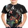 Camiseta Infantil Filme Star Wars Battle