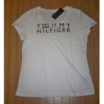 Blusa Básica Tommy Hilfiger: Tamanho G / L Feminina Original