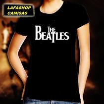 Camiseta The Beatles Baby Look Feminina Camisa Banda Rock