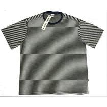 Camiseta Listrada Masculina Plus Size P M G G1 G2 G3 G4