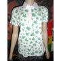 Camiseta Polo Feminina Cannabis