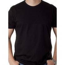 Camisetas Lisas 100% Algodão Atacado 10 Peças Pronta Entrega
