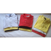 Camiseta Polo Masculina Lacoste Ralph Lauren Tommy Hilfiger