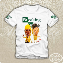 Camisa Camiseta Blusa Personalizada Breaking Bad Heisenberg