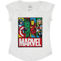 T-shirt Feminina Marvel