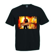 Camiseta Adulto Colorida Indiana Jones