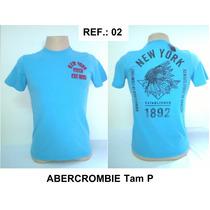 Camiseta Abercrombie & Fitch 100% Original Ref.: 02