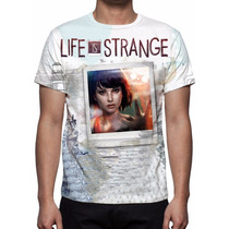 Camisa, Camiseta Game Life Is Strange - Estampa Total