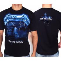 Camiseta De Banda - Metallica - Ride The Lightning