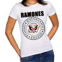 Baby Look Feminina Ramones