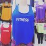 Regata Fitness Feminina Dryfit - Tamanho Único - Div Cores