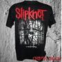Camiseta Camisa De Banda Rock Heavy Metal Slipknot
