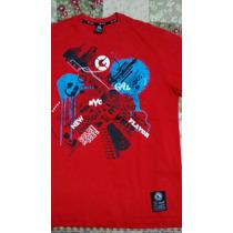 Camiseta G-unit Vermelha, Original, Nova, Ótimo Preço!!