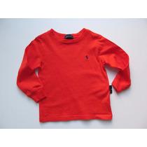 Camiseta Básica Polo Ralph Lauren Infantil Tamanho 3t Nova