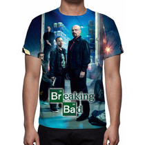 Camisa, Camiseta Série Breaking Bad - Mod 02 - Estampa Total