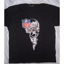 Camisa Camiseta Blusa Customizada Helmet Nfl Futebol America