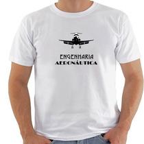 Camiseta Engenharia Aeronáutica