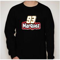 Camiseta Manga Longa Marc Marquez - Várias Cores