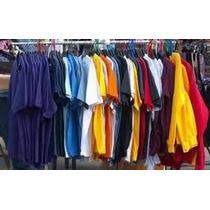 Camiseta Em Cores 100%algodão Lisa Fio 30 Em Cores