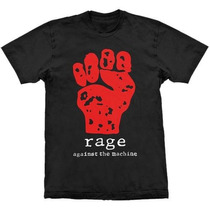 Camiseta De Banda - Rage Against The Machine - Stamp