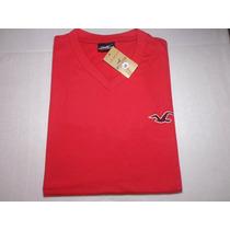 Camisetas Várias Marcas E Cores Gola V 100% Algodão