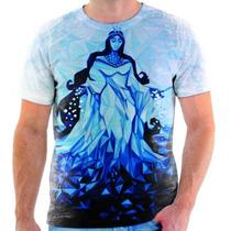 Camiseta De Iemanja A Rainha Do Mar - Santa - 3