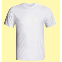 Kit 5 Pç Adulto E 5 Infantil Camisetas Poliéster Sublimação