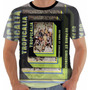 Camiseta Camisa Tropicália Ou Panis Et Circencis Color