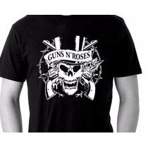 Camiseta Guns N Roses - Camisa De Banda Rock