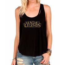 Regata League Of Legends Camiseta Regata Feminina