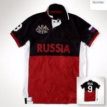 Camisa Polo By Ralph Lauren Russia Original