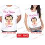 Kit Camiseta Gestante Coroa Príncipe Princesa Kit Com 2